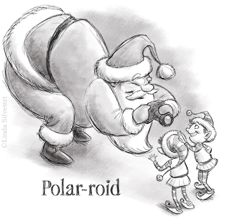 polaroid santa 450