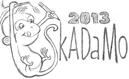 SkADaMo 2013 post monkey