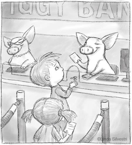 Piggy Bank Tellers