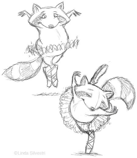 raccoon ballerina2 450