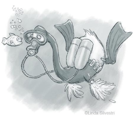 swan diver 450