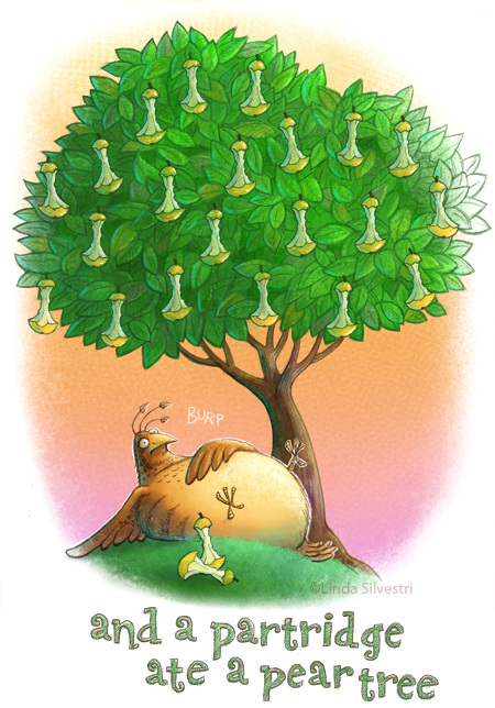 Partridge In A Pear Tree Copy