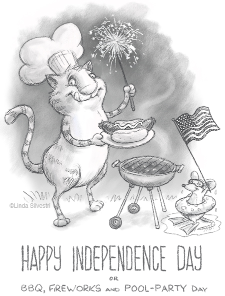 4th of July kitty 450