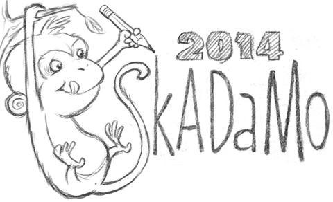 SkADaMo 2014 post monkey