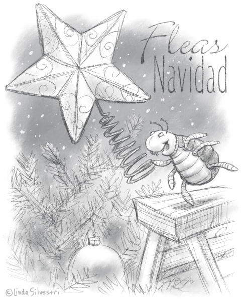 Fleas Navidad HoHoDooDa