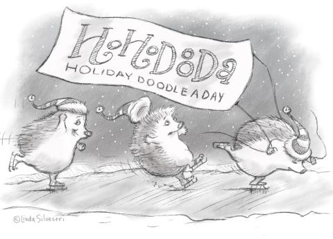 HoHoDooDa hedgehogs