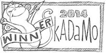 SkADaMo button 2014 monkey winner