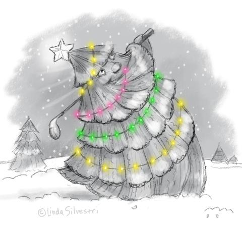 Christmas tee