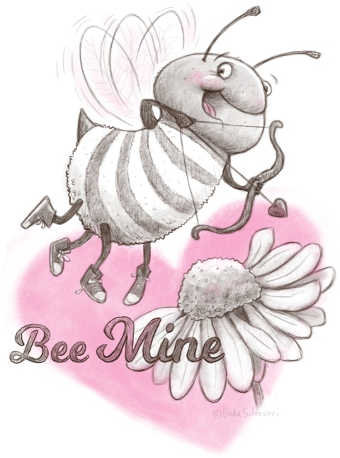 Valentine's Day bee