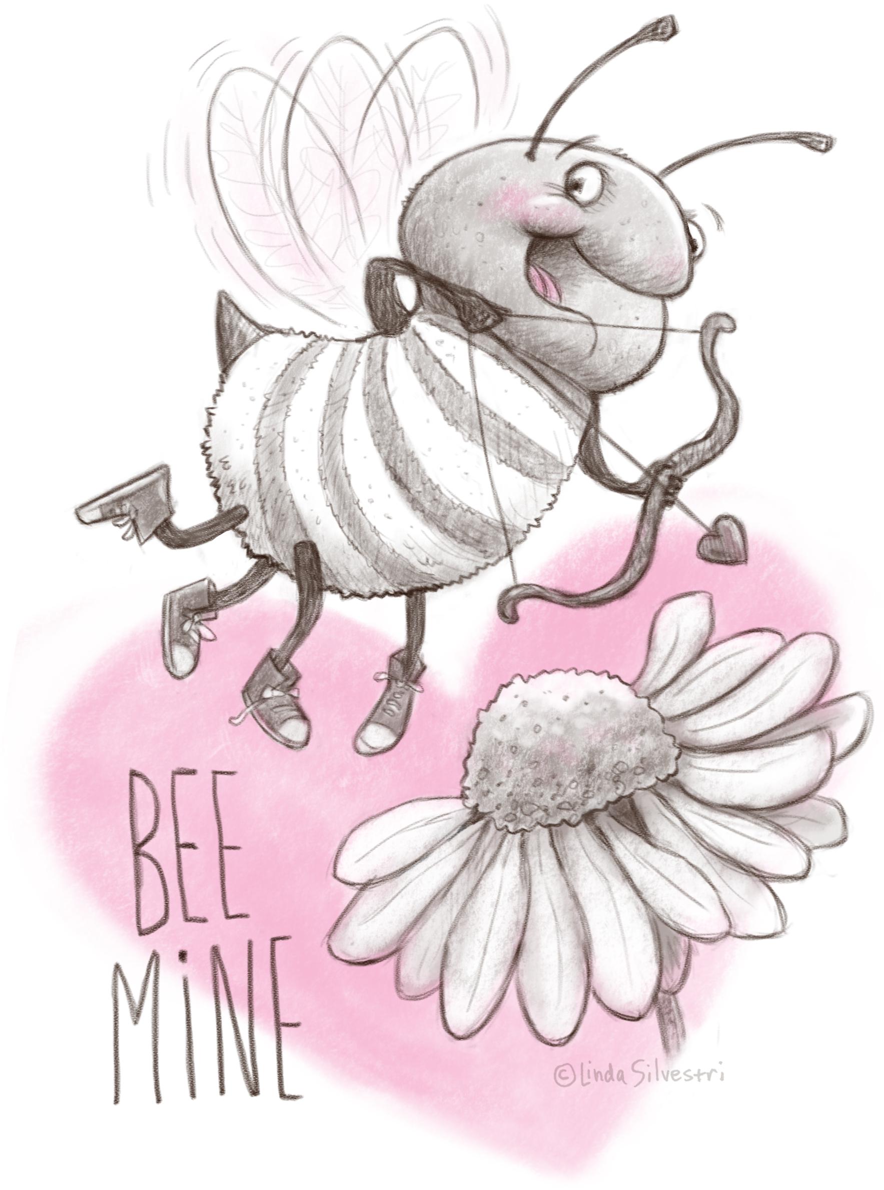 Valentine's Day bee 2019