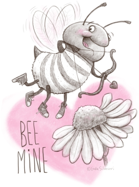 Valentine's Day bee 2019