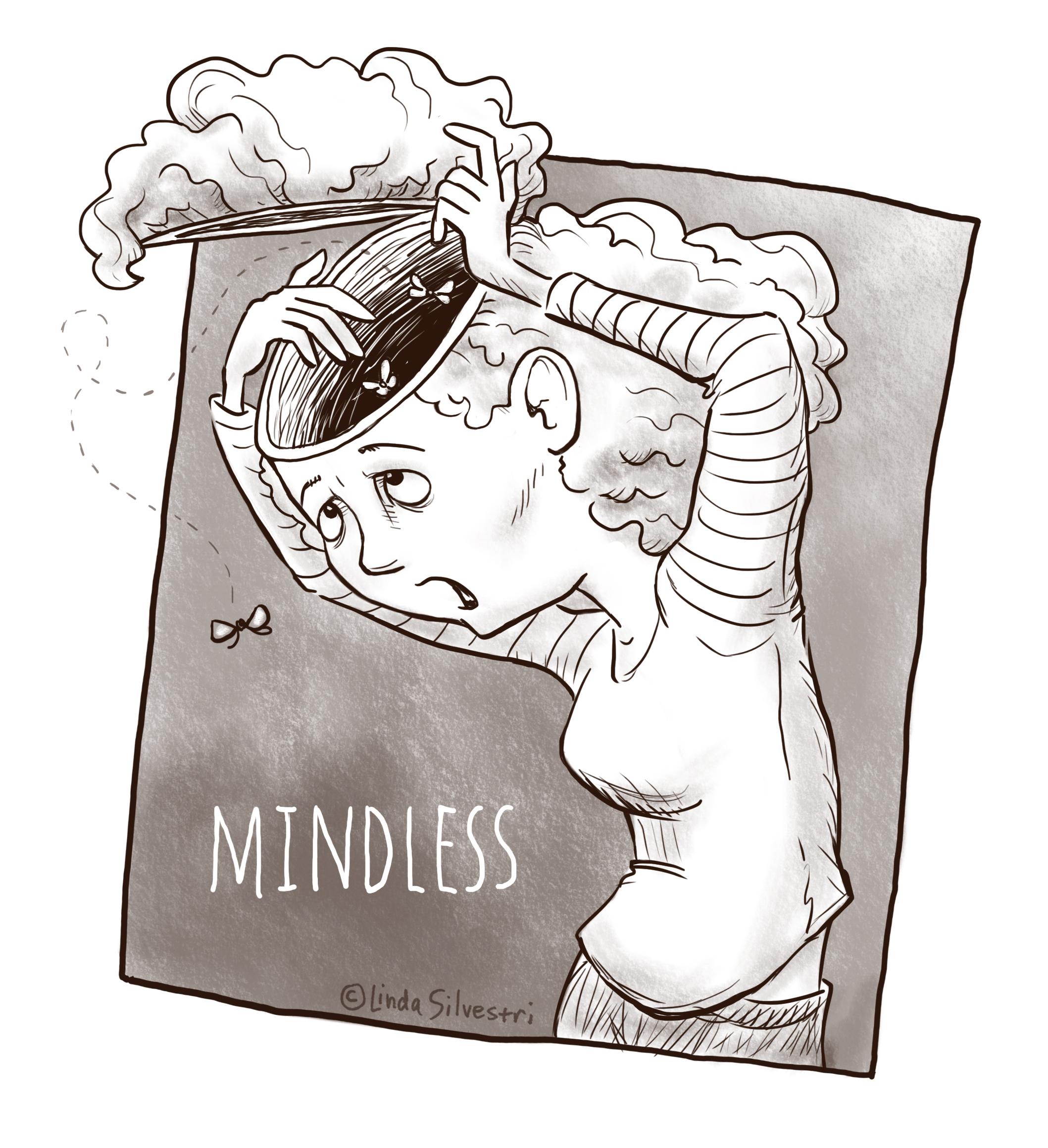 Inktober mindless 3