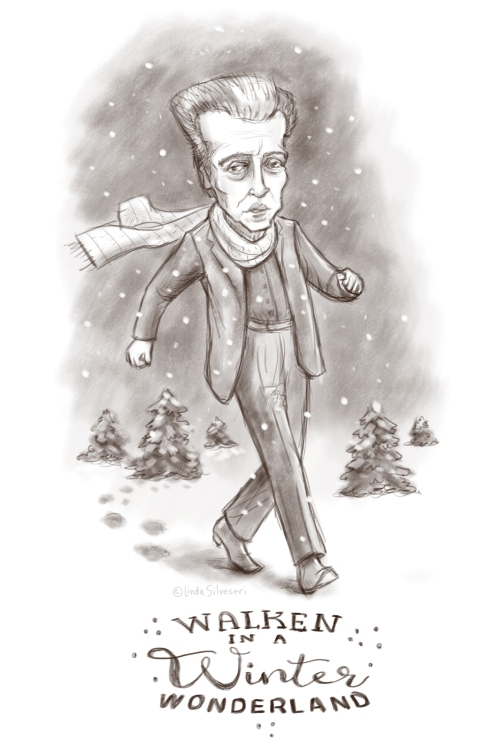 Walken in a winter wonderland 3